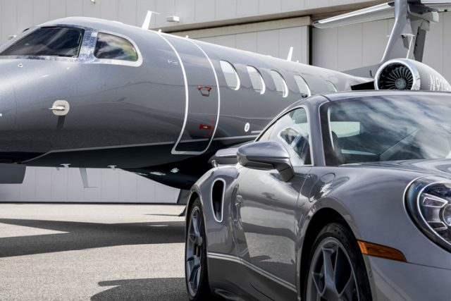 Porsche and Embraer Collaboration