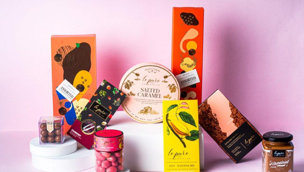 Raksha Bandhan Assorted Chocolates Gift Hamper - Le Pure Chocolatier