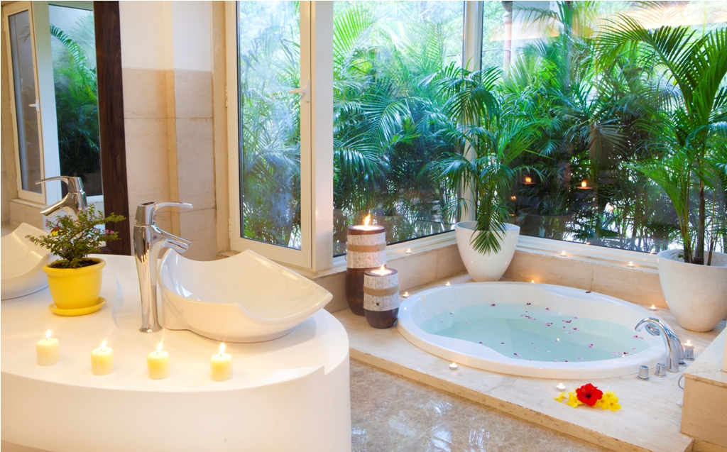 Bath essentials at Atmantan Wellness Centre