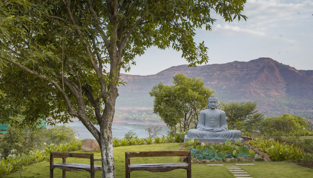 Divine Buddha at Atmantan Wellness Centre